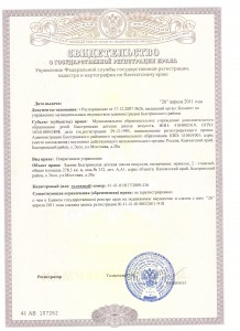 свидетельство регистрации права на здание 001